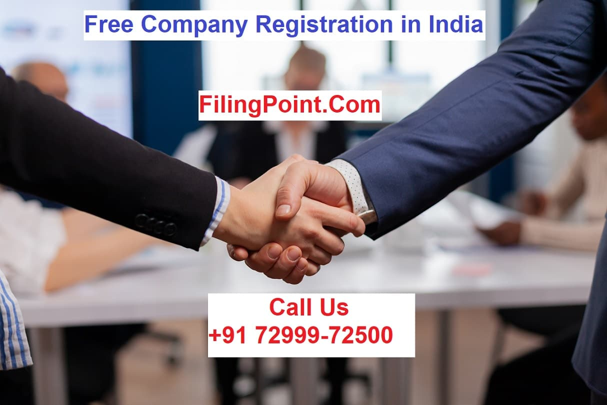 Free Company Registration in India Filing Point Consultants