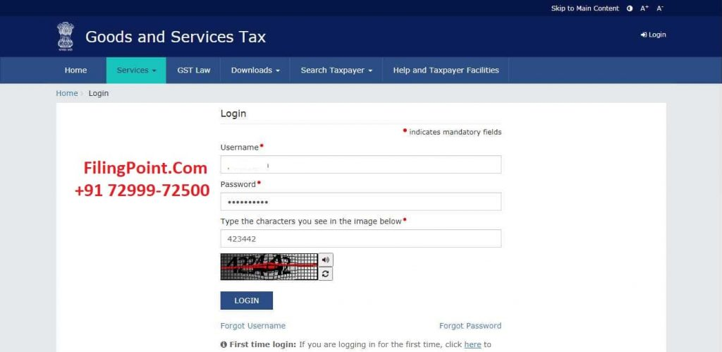 How to Download Registration Certificate from GST Portal Online in India - FilingPoint