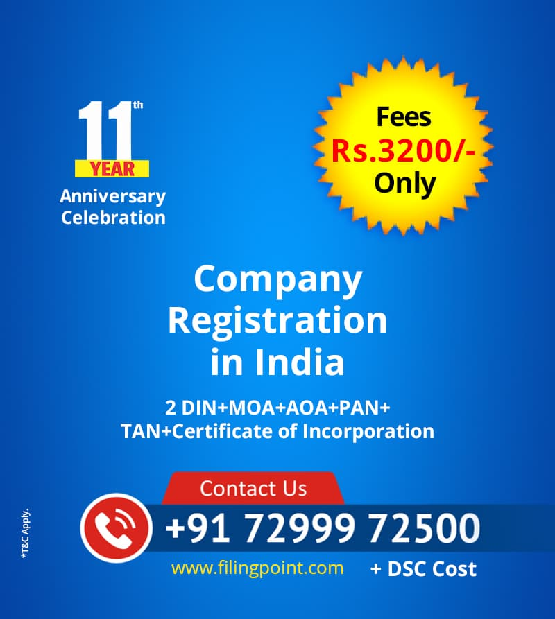 Company Registration Online Chennai India